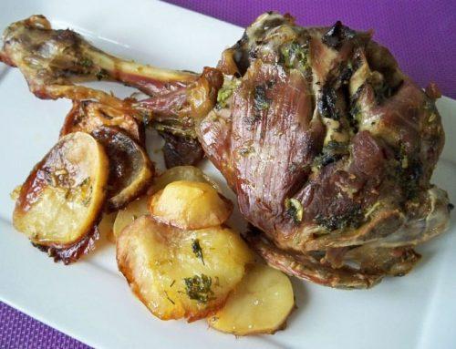 El plato más típico de Villanúa – Ternasco de Aragón